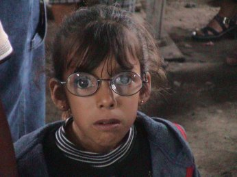 These new glasses allowed this child to see clearly for the first time ever!