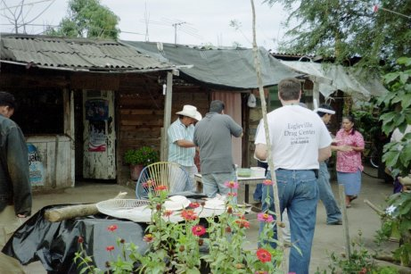 Locals prepared lunch for us at this store on the neighboring property.  It was definitely authentic Mexican cuisine.